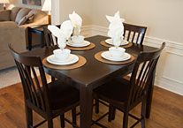 Extended Stay Apartment Dinning