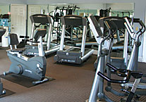 Corporate Apartment Fitness Zone
